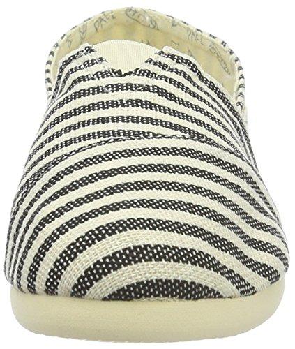Paez Unisex-Erwachsene Original Eva Surfy Alaska Espadrilles Mehrfarbig (White, Black 0064)