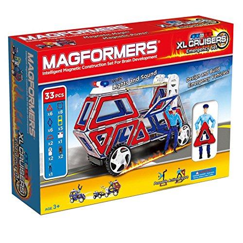 Preisvergleich Produktbild Magformers 274-23 - Cruisers Emergency Set, XL