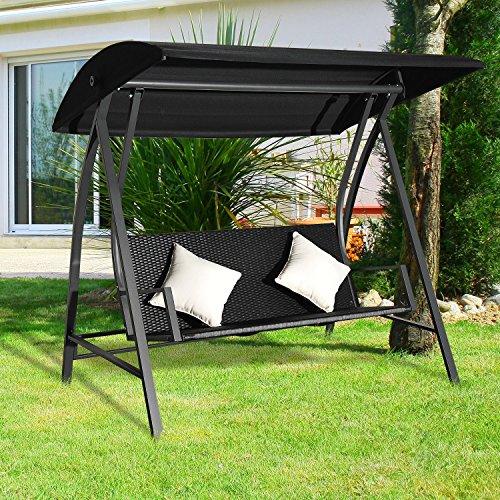 outsunny-3-sitzer-hollywoodschaukel-schaukel-polyrattan-metall-mit-kissen-belastbar-bis-360kg-neu-schwarz-2