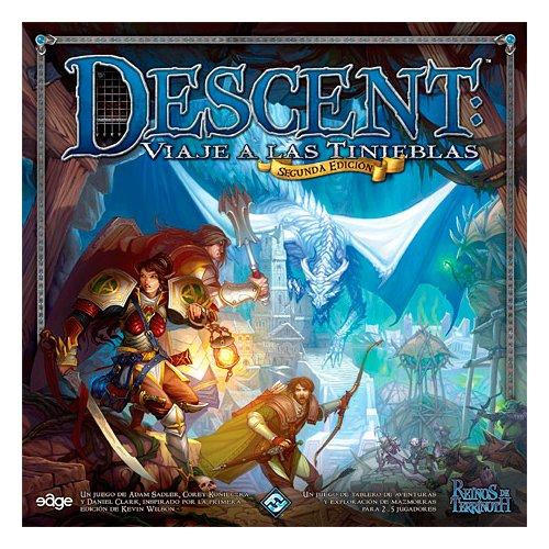 Descent viaje a las tinieblas - Reinos de Terrinoth