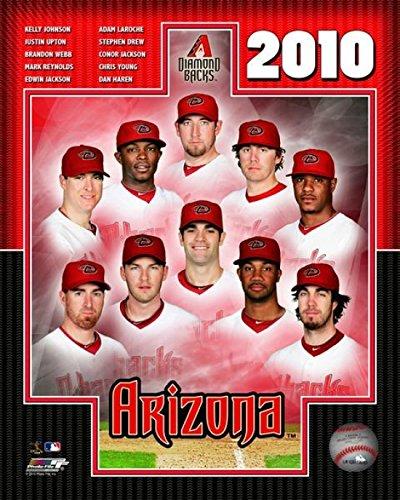 2010 Arizona Dbacks Team Composite Photo Print (40,64 x 50,80 cm)