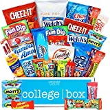 CollegeBox Classic Snacks Care Package (30 Count) - Chips, Cookies, Candy Assortment Bundle Gift Pack And Variety Box