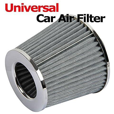 Generic yanhonguk150730–2831yh2253yh chrom Finish Auto Air Filter duction Kit High