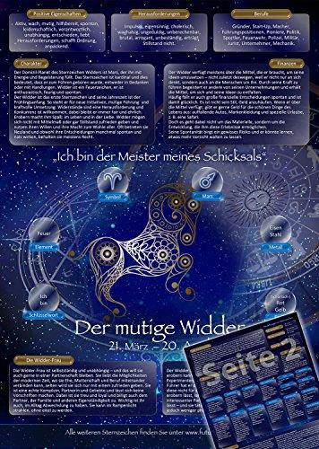 Sternzeichen Widder - Die Horoskop- und Charakter-Karte für Liebe, Partnerschaft, Beruf, Finanzen und Gesundheit: Die psychologische Astrologie der...
