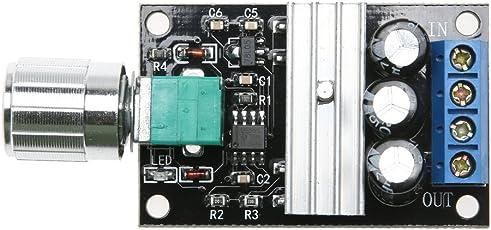 Zibuyu Pwm Dc 6V 12V 24V 28V 3A Motor Speed Control Switch Controller