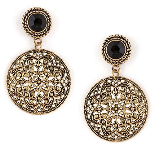 01f973e58 Sapna Fx Special Stylish Oxidised Afghani Tribal Fancy Party Wear Earrings  For Girls And Women