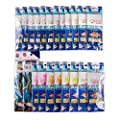 Free Fisher 22/4 Packs Sea Fishing Sabiki Rigs Baits With Barbed Hooks by Free fisher