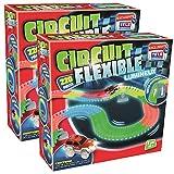 Circuit Flexible et Lumineux 440 pcs – Le circuit de voitures dont les rails se...