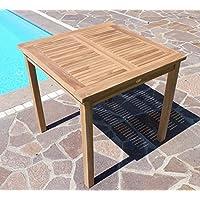 Gallery Of Teak Holztisch Gartentisch Garten Tisch Xcm Gartenmbel Holz Sehr  Robust Modell Alpen Von With Gartentisch Rund Holz