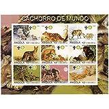 Animales y sus cachorros cuentan en esta hoja de Angola emitida en el año 2000 con la temática del Scout y logotipos de Rotary, y titulada Cachorro de Mundo (Cachorros del Mundo), cada uno de los 9 sellos muestra un animal diferente con sus cachorros. Nuevo sin bisagras