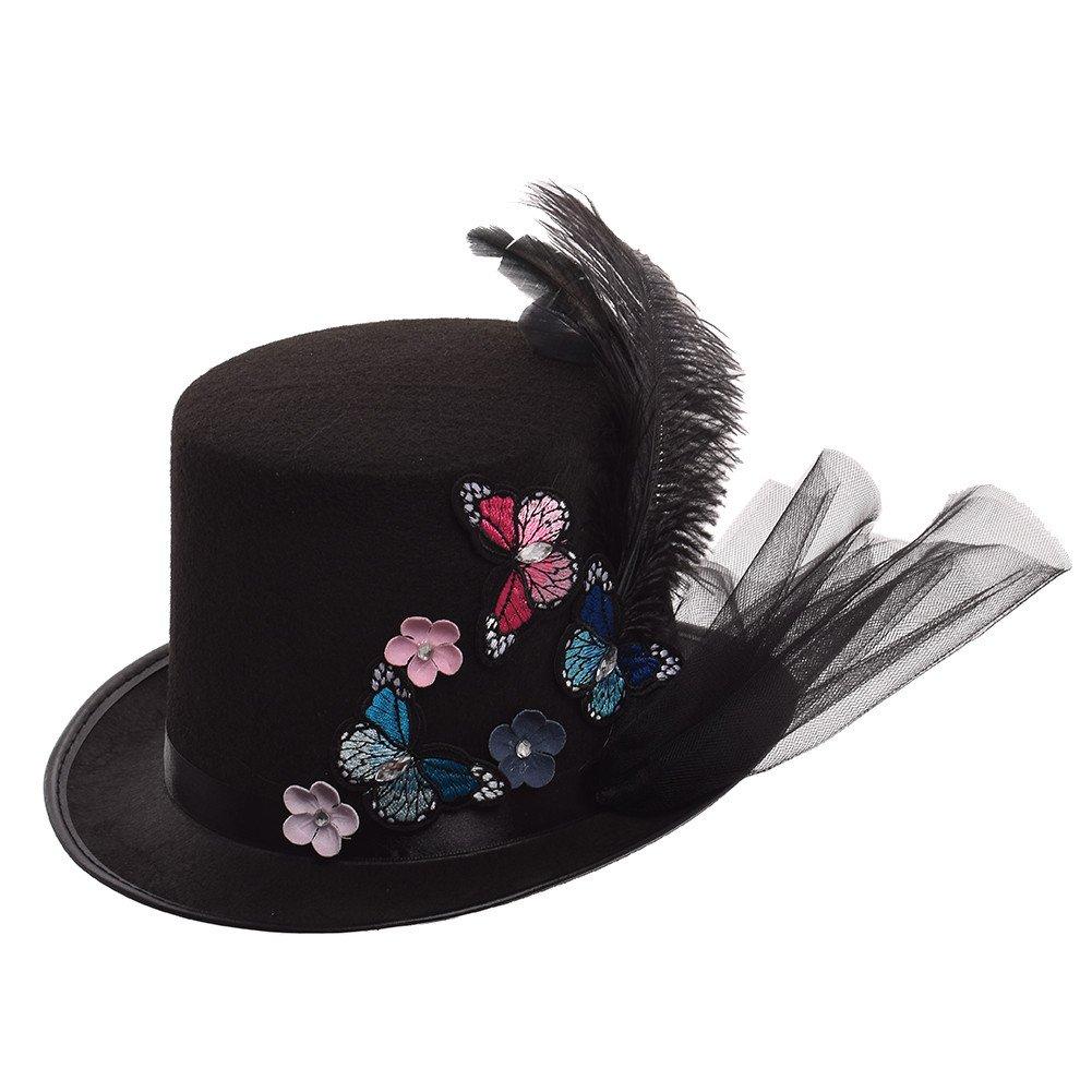 varios estilos GRACEART Steampunk hacia parte superior sombreros con google