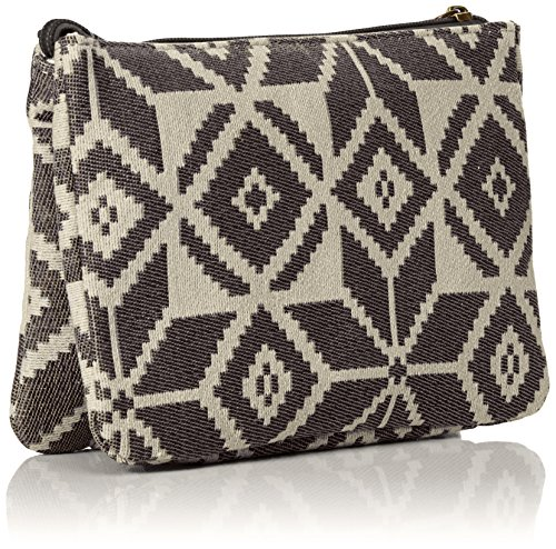 Pieces Pcsage Clutch, Pochette Multicolore (Black)