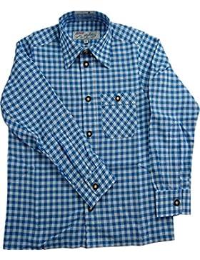 Original Lekra Trachtenhemd Bodo für Kinder, kariert , aus 100% Baumwolle pflegeleicht (Farbe wählbar)