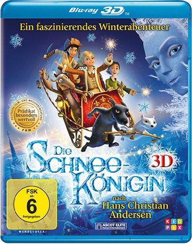 Preisvergleich Produktbild Die Schneekönigin [3D Blu-ray]