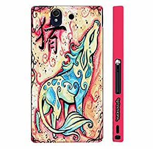 Sony Xperia Z CHINESE ZODIAC PIG designer mobile hard shell case by Enthopia