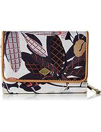 Oilily Botanic Pop S Wallet Charcoal