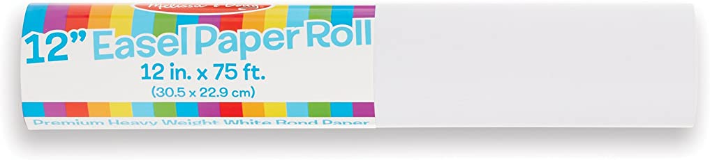 Melissa & Doug Tabletop Paper Roll (12-inch),White