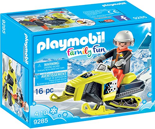 Playmobil-9285 Moto de Nieve