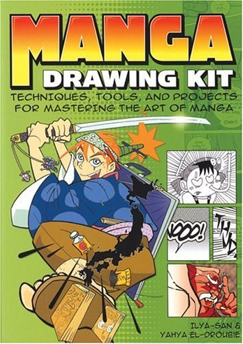 Manga Drawing Kit: Techniques, Tools, and Projects for Mastering the Art of Manga by Ilya San (2005-11-21)