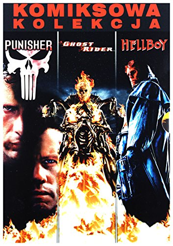 Der Film Punisher (Marvel Kolekcja Komiksowa: Ghost Rider/ Hellboy/ Punisher BOX [3DVD] (Keine deutsche Version))