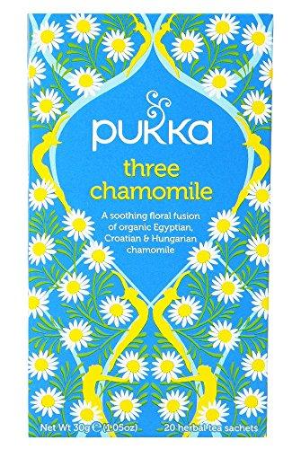 Pukka Herbal AYURVEDA Organic Three Chamomile Herbal Tea 20bags (Pack of 2)