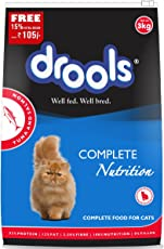 Drools Tuna & Salmon Cat Food, 3kg (15% Extra Free Inside*Limited Offer Stock)