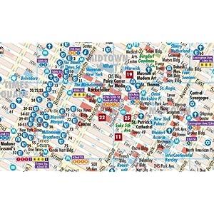 Nueva York plano callejero plastificado. Escala 1:15.000. Borch. (Borch Map)