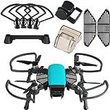 KUUQA Kit di accessori da 5 pezzi compatibile con Spark, tra cui protezione dell'elica dell'elica con prolunga del carrello di atterraggio pieghevole, protezione della fotocamera cardanica, paraluce