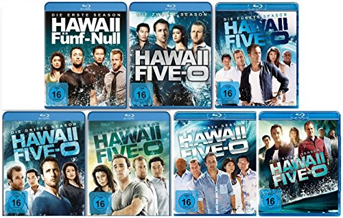Hawaii Five-0 - Season/Staffel 1-7 im Set - Deutsche Originalware [40 Blu-rays]