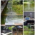 LUXJET Solar Springbrunnen Garten Wasserpumpe für Gartenteiche von LUXJET bei Du und dein Garten