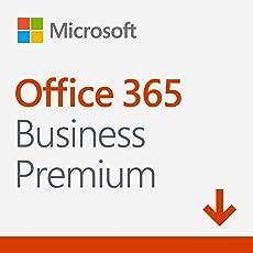 Microsoft Office 365 Business Premium multilingual | 1 Nutzer | 5 PCs/Macs, 5 Tablets, 5 mobile Geräte | 1 Jahresabonnement | Download