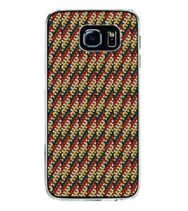 Colourful Pattern 2D Hard Polycarbonate Designer Back Case Cover for Samsung Galaxy S6 G920I :: Samsung Galaxy G9200 G9208 G9208/SS G9209 G920A G920F G920FD G920S G920T