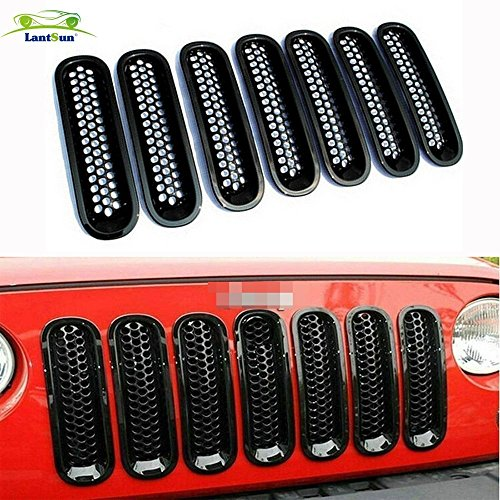 lantsun-noir-avant-grill-mesh-grille-insert-pour-jeep-wrangler-rubicon-jk-sahara-et-illimite-2007-20