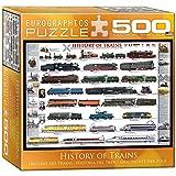 Eurographics Geschichte der Züge - 500 Teile Querformat Puzzle