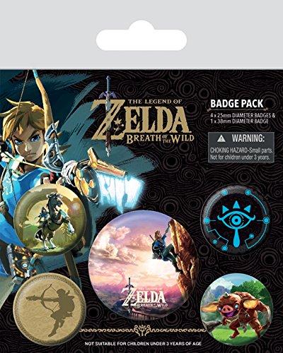 Pack de Chapas Zelda Breath Of The Wild
