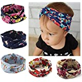 Color2(pack Of 6) : Yeshan Baby Girls Turban Headband Head Wrap Knotted Hair Band For Newborn,Toddler And Childrens...