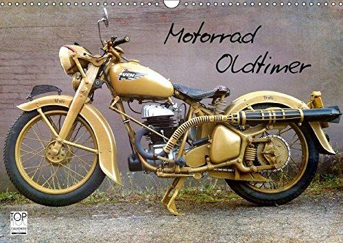 Motorrad Oldtimer (Wandkalender 2018 DIN A3 quer): Motorrad Oldtimer - Raritäten aus Deutschland und Österreich (Monatskalender, 14 Seiten ) (CALVENDO ... [Kalender] [Apr 01, 2017] Siebenhühner, Gabi