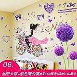 ALLDOLWEGE Die Kunstwerke an den Wänden und warmen Selbstklebende Tapete Wand Kunst Zimmer die Wände sind mit Gemälden an den Wänden der Mädchen eingerichtet