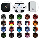 eXtremeRate� 60 pcs Custom Home Button Power Switch Stickers Skin Cover for Xbox One / One X / One S Console Kinect and Xbox One / One X / One S / Elite Controllers