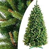 DecoKing 250 cm Künstlicher Weihnachtsbaum Tannenbaum Christbaum Tanne Wiera Weihnachtsdeko