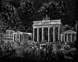 WASO-Hobby - 4er Scrapy Kratzbilder Set - Berlin Motive