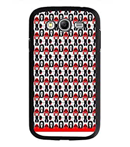 PrintDhaba Skull pattern D-1953 Back Case Cover for SAMSUNG GALAXY GRAND NEO PLUS (Multi-Coloured)