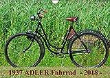 1937 ADLER Fahrrad (Wandkalender 2018 DIN A4 quer): Adler Damenfahrrad von 1937 (Monatskalender, 14 Seiten ) (CALVENDO Kunst) [Kalender] [Apr 01, 2017] Herms, Dirk