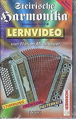 Florian Michlbauer - Lernvideo - Steirische Harmonika - Folge 2 (G-C-F-B) [VHS]