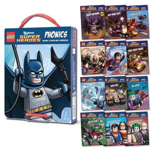 LEGO DC Super Heroes: Phonics Box Set by Quinlan B. Lee (2015-09-03)