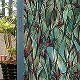 HYXL Smerigliata pellicola finestre Adesiva finestra Carta opaca finestra Adesivi di vetro Oscuranti Vetrofanie Pellicola di vetro finestra bagno-A 50x100cm(20x39inch)