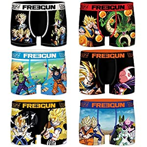 FREEGUN Dragon Ball Z Infantil, Surtido para Niños, Diseños y Lotes Variados