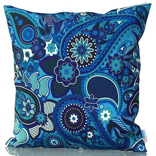 Sunburst Outdoor Living 60cm x 60cm MASTERFUL Federa decorativa per cuscini per divano, letto, sofà (Rust Brown Set Esterno)