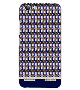 PrintDhaba Pattern D-1817 Back Case Cover for LENOVO A6020a46 (Multi-Coloured)
