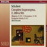 Schubert : Impromptus, D. 899 & 935